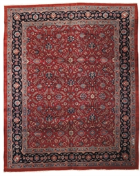 An unusual Bijar carpet