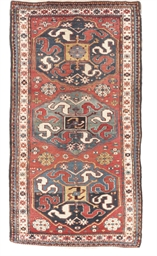 An antique Chondzorek rug