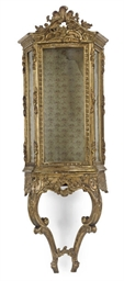 AN ITALIAN GILT-WOOD AND GESSO