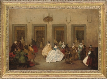 The ballroom dance