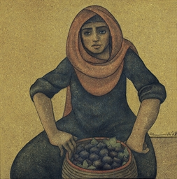 Woman Selling Figs