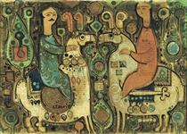 Sadegh Tabrizi (Iranian, b. 1938)