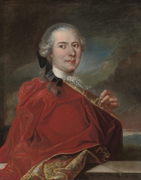 Portrait of Monsieur de la Por