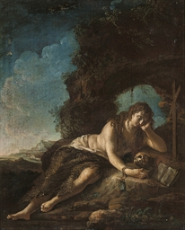 The Penitent Magdalen in a lan