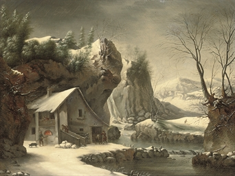 An extensive winter landscape