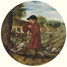 The Goose Herder, or 'Who know