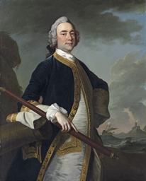 Portrait of a Flag Officer of