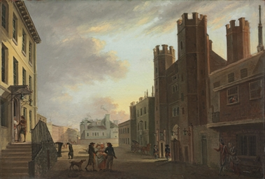 View of St. James's Palace, Lo