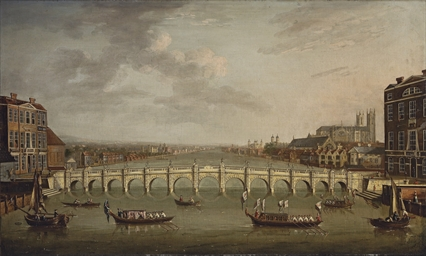 View of the Thames, London, wi