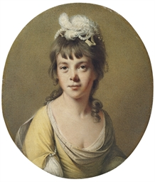 Portrait of Miss Harriet Hope