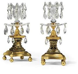 A PAIR OF GEORGE III ORMOLU, P
