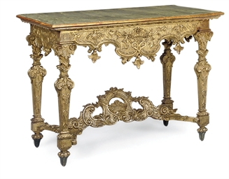 A NORTH ITALIAN GILTWOOD AND S
