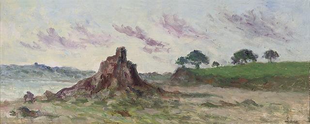 Locquivy, la côte et le rocher