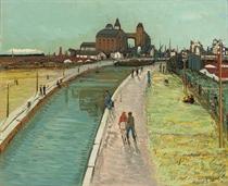 Le canal à Pantin