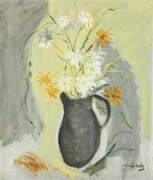 La cruche aux fleurs