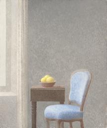 Le fauteuil bleu