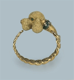 A DIAMOND DOG BANGLE, BY BUCHE