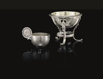 A Silver Vodka Cup