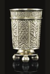 A Silver-Gilt Beaker