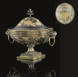 An Important Parcel-Gilt Silve