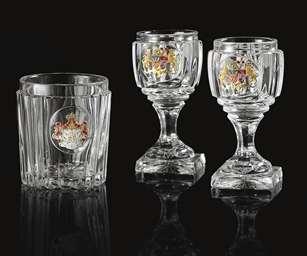 Three Glasses from Banquet Ser
