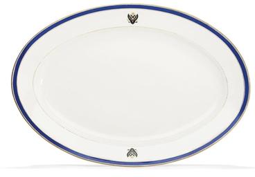 A Porcelain Platter
