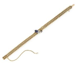 A Jeweled Gold Bracelet