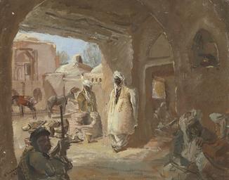 A caravanserai in Afghanistan
