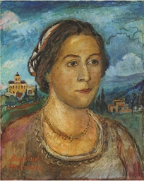 Portrait of Marussia Burliuk