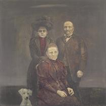 Famille au chien