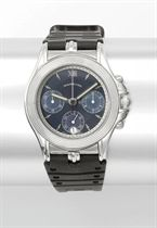 Mauboussin An 18K white gold and mother-of-pearl chronograph