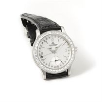 Jaeger-LeCoultre A fine and rare platinum and diamond-set au