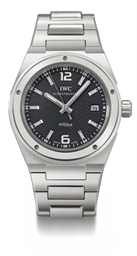 IWC. A heavy stainless steel a