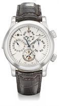 Jaeger-LeCoultre A large stainless steel automatic perpetual