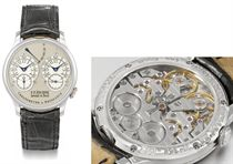 FP Journe A very fine and rare platinum dual time chronomete