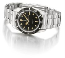 Rolex A very fine and rare stainless steel automatic wristwa