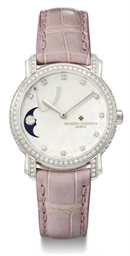 Vacheron Constantin A lady's fine and attractive 18K white g...