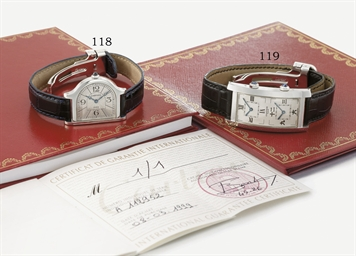 Cartier. A very fine and uniqu