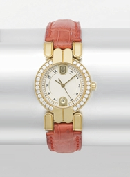 Harry Winston. A lady's 18K go
