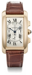 Cartier. A large 18K pink gold