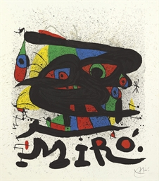 Poster for the Exhibition Miro