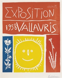 Exposition 1958 Vallauris (B.