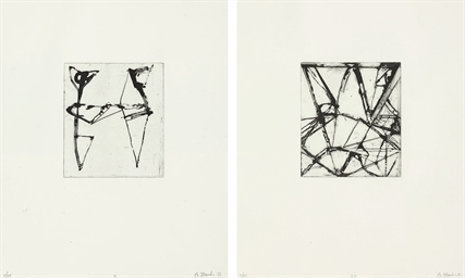 Etchings to Rexroth: two plate