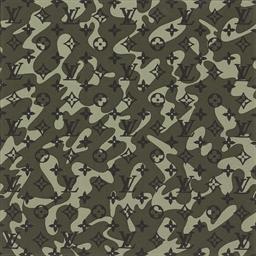 Monogramouflage Treillis