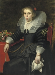 Portrait of a young lady, said