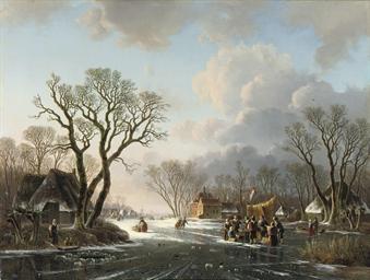 Gathering by a koek-en-zopie o