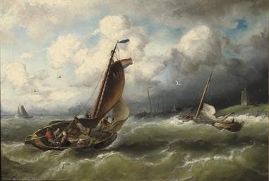 Off the coast of Marken