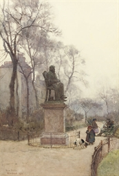 The Carlyle statue, Chelsea