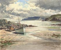 Boats on the shore