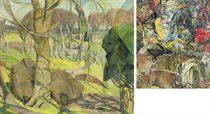 Cubist landscape (recto); Requiem (verso)